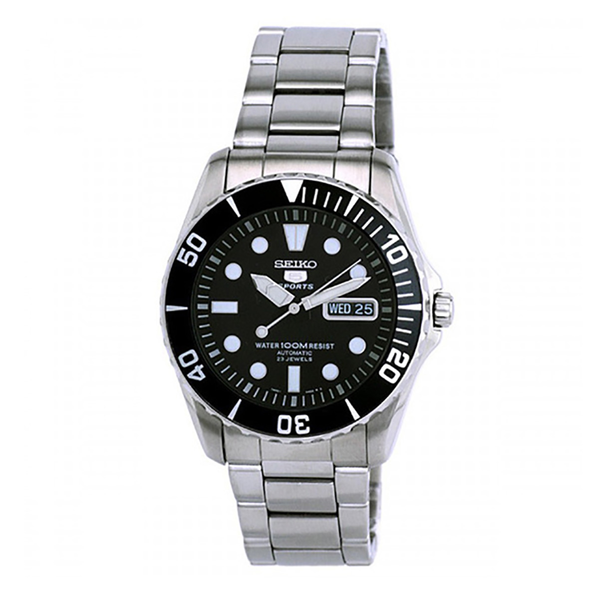 Seiko Analog Sport Mens Watch 5 SPORTS  SNZF17K1 - <span itemprop='availableAtOrFrom'>UK, United Kingdom</span> - 1. Refund Policy : Refund will only be made if there is a manufacturing fault or DOA or we made a mistake. 2. Watches that have been resized, damaged, or otherwise altered after delivery will  - UK, United Kingdom