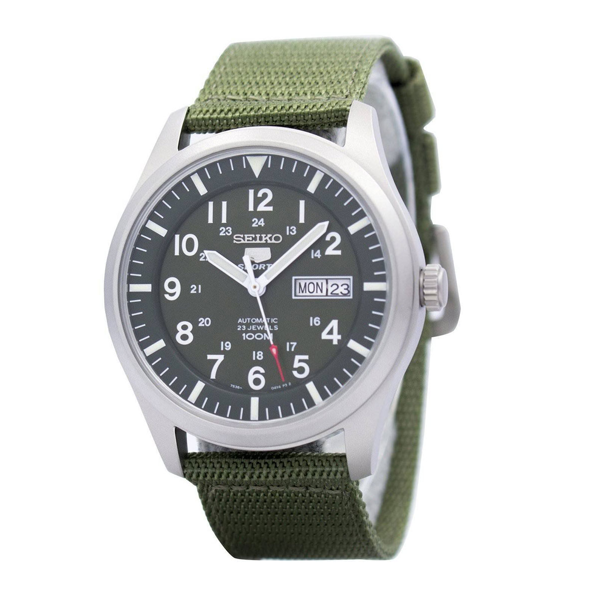 Seiko Analog Sport Mens Watch 5 SPORTS  SNZG09K1 - <span itemprop='availableAtOrFrom'>UK, United Kingdom</span> - 1. Refund Policy : Refund will only be made if there is a manufacturing fault or DOA or we made a mistake. 2. Watches that have been resized, damaged, or otherwise altered after delivery will  - UK, United Kingdom