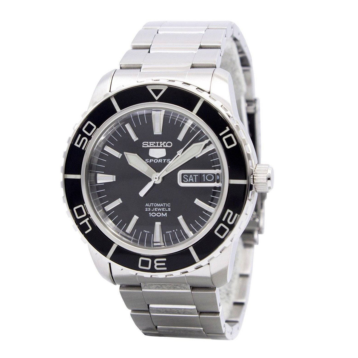 Seiko Analog Sport Mens 5 SPORTS   Watch SNZH55K1 - <span itemprop='availableAtOrFrom'>UK, United Kingdom</span> - 1. Refund Policy : Refund will only be made if there is a manufacturing fault or DOA or we made a mistake. 2. Watches that have been resized, damaged, or otherwise altered after delivery will  - UK, United Kingdom